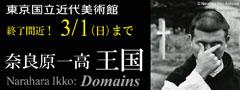東京国立近代美術館 奈良原一高「王国」終了間近! 3/1(日)まで