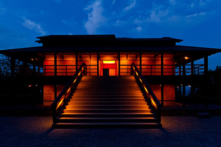 『大地の芸術祭 越後妻有アートトリエンナーレ』 James Turrell『光の館』2000年 photo:Tsutomu Yamada