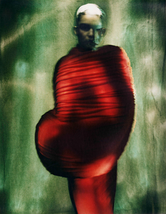 """Rei Kawakubo (Japanese, born 1942) for Comme des Garçons (Japanese, founded 1969),""""Body Meets Dress - Dress Meets Body,""""spring/summer 1997, Courtesy of The Metropolitan Museum of Art ©Paolo Roversi"""