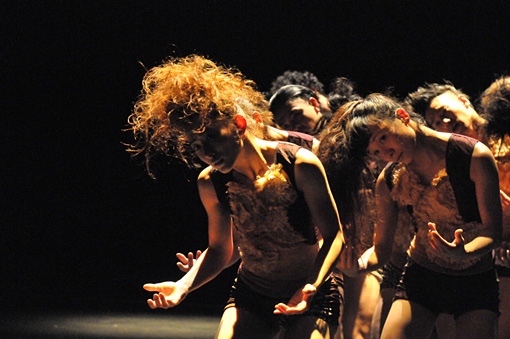 Co.山田うん『春の祭典』マレーシア公演 ©Wakako Aichi