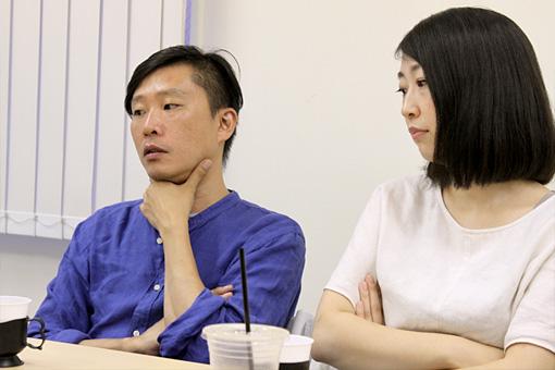 左から:蔡忠浩、森本夏子