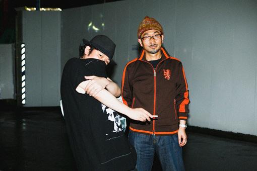 左から:宇川直宏、松山晋也