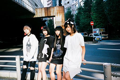 Maison book girl(左から:コショージメグミ、矢川葵、和田輪、井上唯)