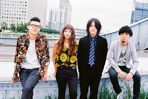 RAMMELLS 左から:村山努、黒田秋子、真田徹、彦坂玄
