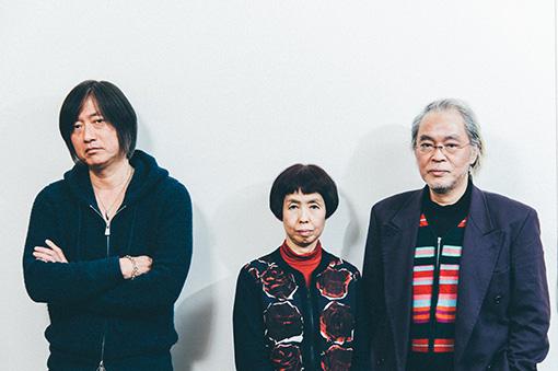 左から:小林武史、和多利恵津子、和多利浩一