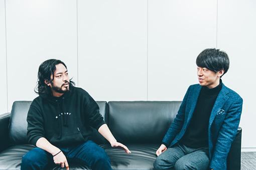 左から:R-指定、DJ松永