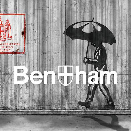 Bentham『激しい雨 / ファンファーレ』通常盤ジャケット