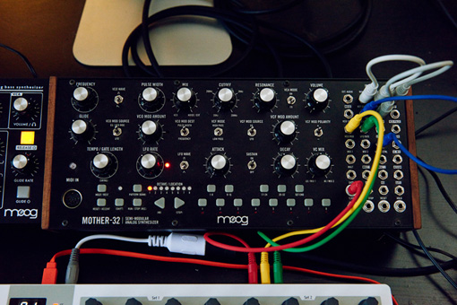 moog「Mother-32」