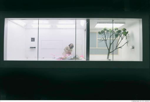 タニノとピヒナーがタッグを組んだ、ドイツの公共劇場からの委嘱作品『水の檻』(2015年 クレーフェルト=メンヒェングラートバッハ公立劇場)作・演出=タニノクロウ、舞台美術・衣装=カスパー・ピヒナー