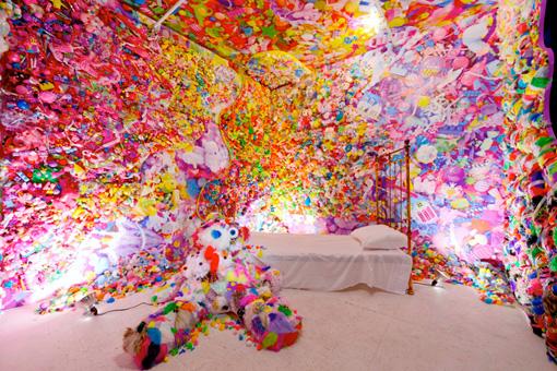個展『Colorful Rebellion –Seventh Nightmare-』 Photo:GION