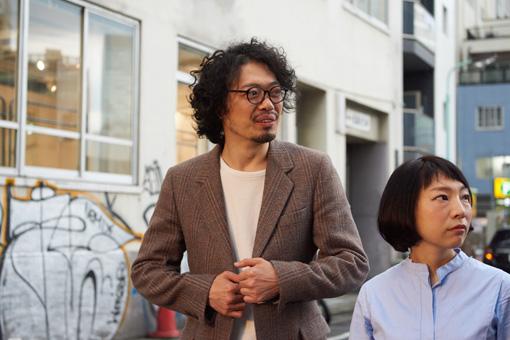 左から:丸尾丸一郎(劇団鹿殺し)、菜月チョビ(劇団鹿殺し)