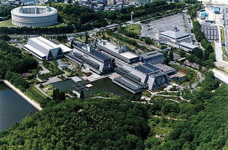 国立京都国際会館 空からの全景