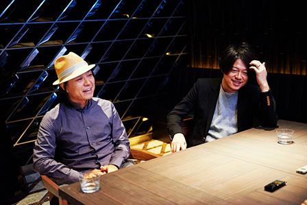 左から:川上シュン、渋谷慶一郎