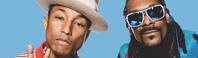 Snoop Doggとファレル、世界的スター2人の意外な共存関係