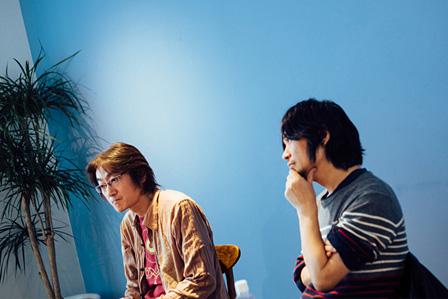 左から:勝井祐二、ナカコー