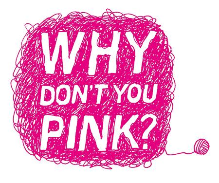 『WHY DON'T YOU PINK?』展 by東京女子プロジェクト ロゴ画像(東京女子プロジェクト提供)
