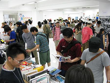 『THE TOKYO ART BOOK FAIR 2010』の様子