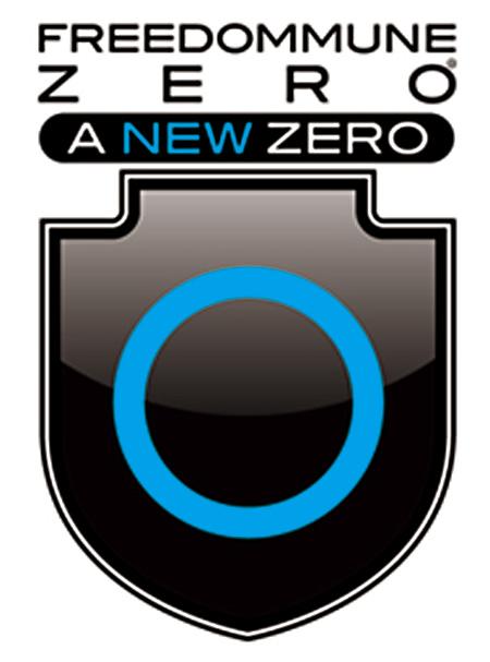 『FREEDOMMUNE 0<ZERO> A NEW ZERO』ロゴ