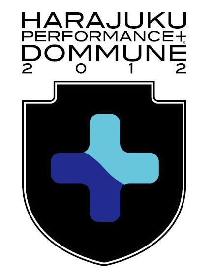 『HARAJUKU PERFORMANCE + DOMMUNE 2012』ロゴ
