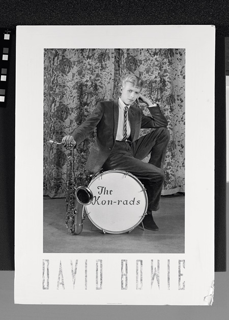 Publicity photograph for The Kon-rads,1963 Photograph by Roy Ainsworth The David Bowie Archive