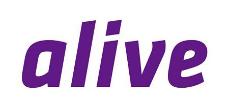 aliveロゴ