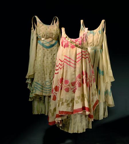レオン・バクスト「ニンフ」の衣裳(『牧神の午後』... ニジンスキーを輩出したバレエ・リュスの衣
