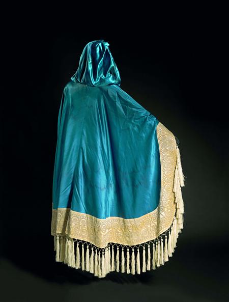 レオン・バクスト「貴婦人」の衣裳(『蝶々』より)... ニジンスキーを輩出したバレエ・リュスの衣