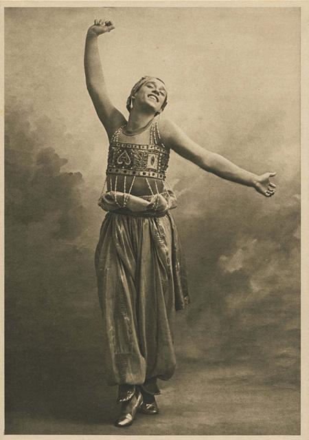 オーギュスト・ベール 『「シェエラザード」─ニジンスキー』1910年 オーストラリア国立美術館