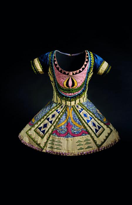 レオン・バクスト「青神」の衣裳(『青神』より)1912年頃 オーストラリア国立美術館