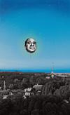 「おじさんの顔」が宇都宮の空に浮かぶ、目【め】と宇都宮美術館のアートプロジェクト