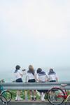 松居大悟監督新作『私たちのハァハァ』から劇中写真、自転車で東京目指す女子高生描く