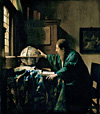 フェルメール『天文学者』日本初公開、欧州風俗画の歴史を辿る『ルーヴル美術館展』