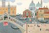 安野光雅の風景画で巡るヨーロッパ周遊旅行、水彩原画約100点を展示