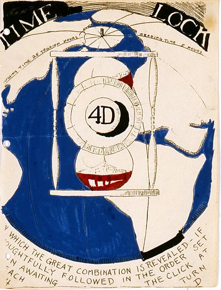 バックミンスター・フラー『4D time lock』 1927-1929
