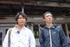 安田顕が廃墟で即興芝居、記録映像×ドラマのテレ東新番組『廃墟の休日』