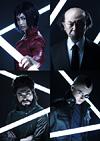 素子、荒巻ら4人のキャラ写真が公開、舞台『攻殻機動隊ARISE』