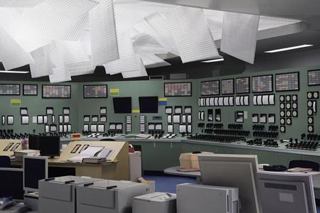 トーマス・デマンド『制御室』 2011年 ©Thomas Demand, VG Build-Kunst, Bonn / JASPAR, Tokyo 東京都現代美術館蔵