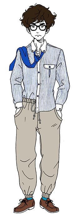 星野源が声を演じる「先輩」キャラクタービジュアル ©森見登美彦・KADOKAWA/ナカメの会