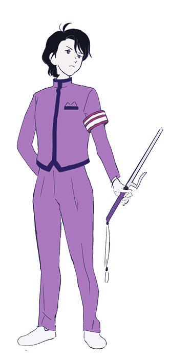 学園祭事務局長キャラクタービジュアル ©森見登美彦・KADOKAWA/ナカメの会