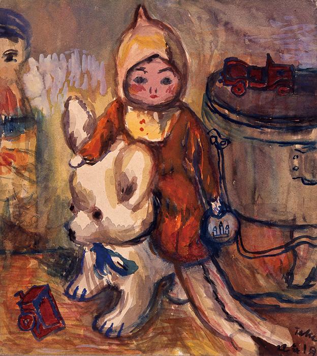 茂田井武『白くまとお人形』1947年