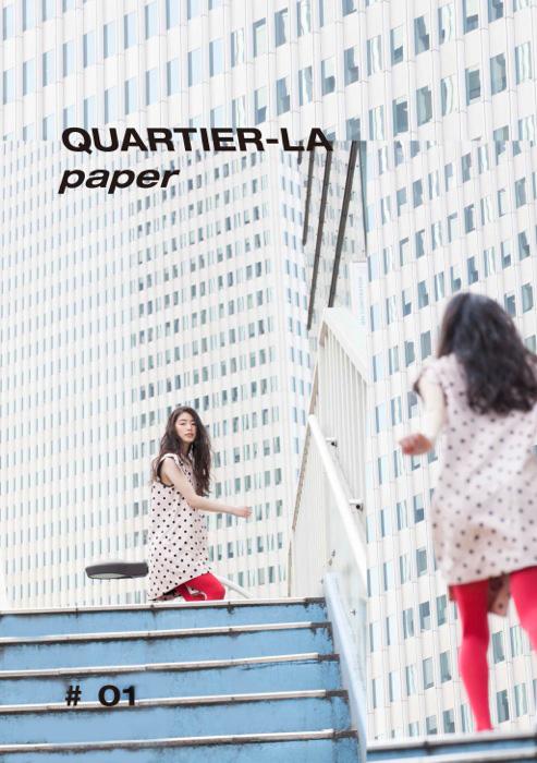 『QUARTIER-LA paper』表紙