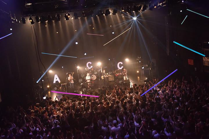 Awesome City Club 東京・赤坂BLITZ公演の模様 撮影:古渓一道