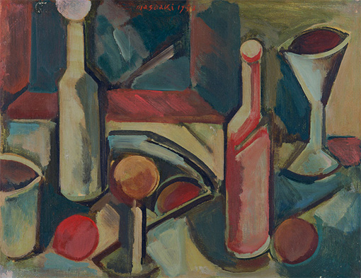 『Still Life no.64』1953年 油彩・キャンバス 41×53cm