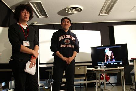 左から:松澤和行(UTB映像アカデミー講師)、関和亮