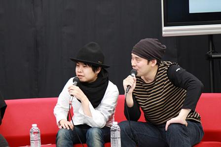 kz(livetune)(左)、関和亮(右)