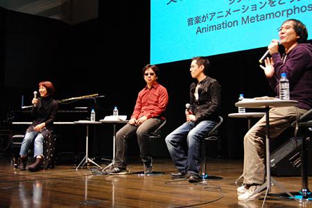 菅野よう子×神山健治×渡辺信一郎『音楽がアニメーションをどう変えるか』