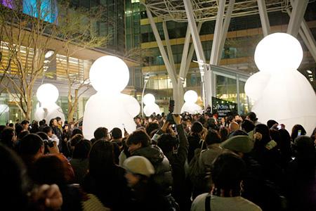 六本木アートナイト2010 《ハーバートの夢》カンパニー・デ・キダム ©Roppongi Art Night Committee