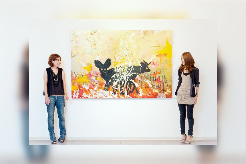 『ふたりで描く、ひとつの絵 ~三尾あすか・あづち姉妹がひとりの「アーティスト」になるとき~』 第3話:「突然あらわれた、黒い獣」