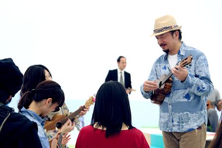 『Aloha Amigo! フェデリコ・エレロ×関口和之』体験会場風景