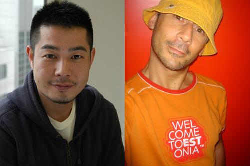 写真左から:井手茂太 ©Mina OGATA、ジェローム・ベル ©FeranMcRope